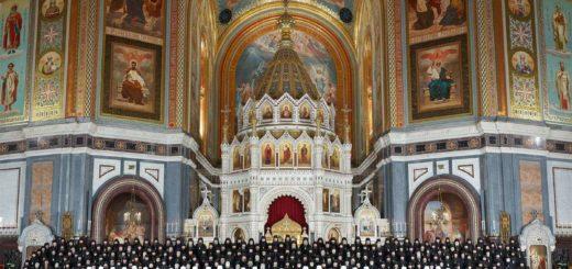 Священный Синод Русской Православной Церкви выражает решительный протест и глубокое возмущение